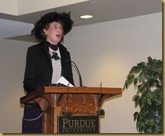 Joyce and Ellen at Purdue University