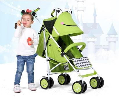 Cách gập xe đẩy em bé và vệ sinh xe đẩy