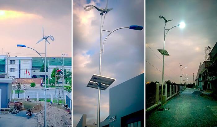 Đèn cột năng lượng mặt trời