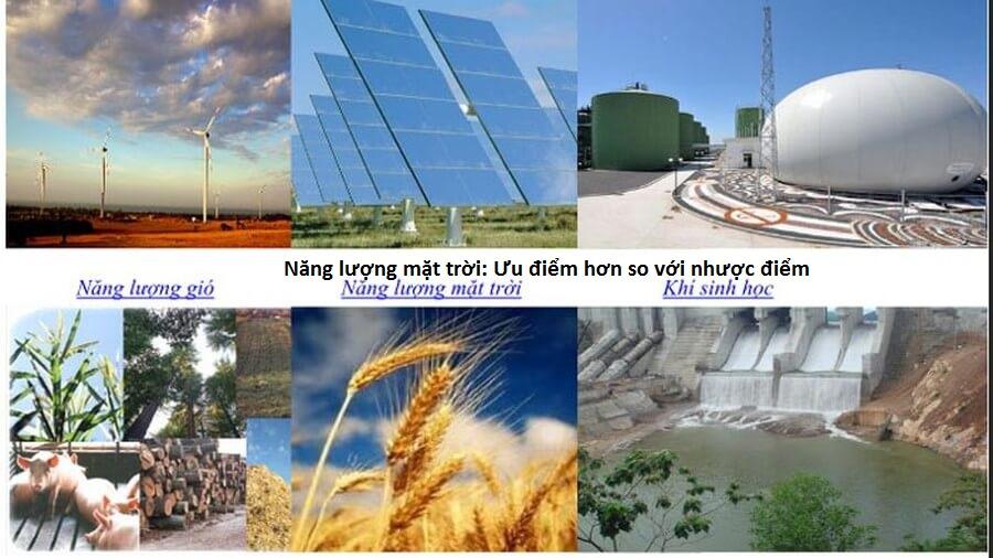 ưu nhược điểm của các nguồn năng lượng, ưu nhược điểm của năng lượng gió, ưu nhược điểm của năng lượng tái tạo