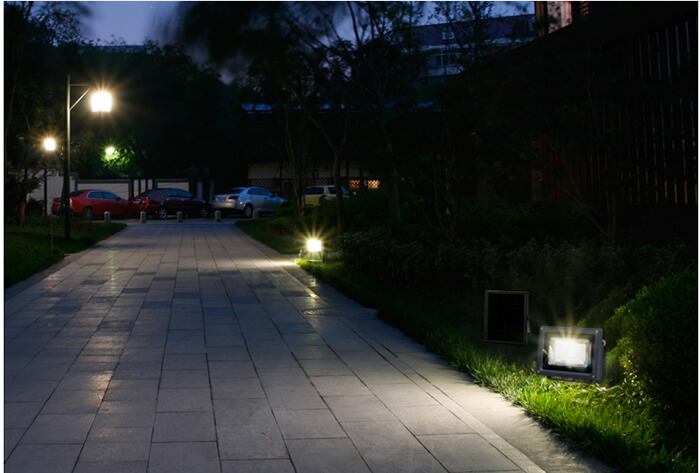 Nguyên lý hoạt động của đèn pha led năng lượng mặt trời