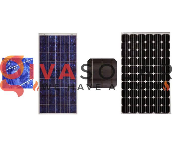 Sự khác biệt giữa pin mặt trời Mono và Poly 1
