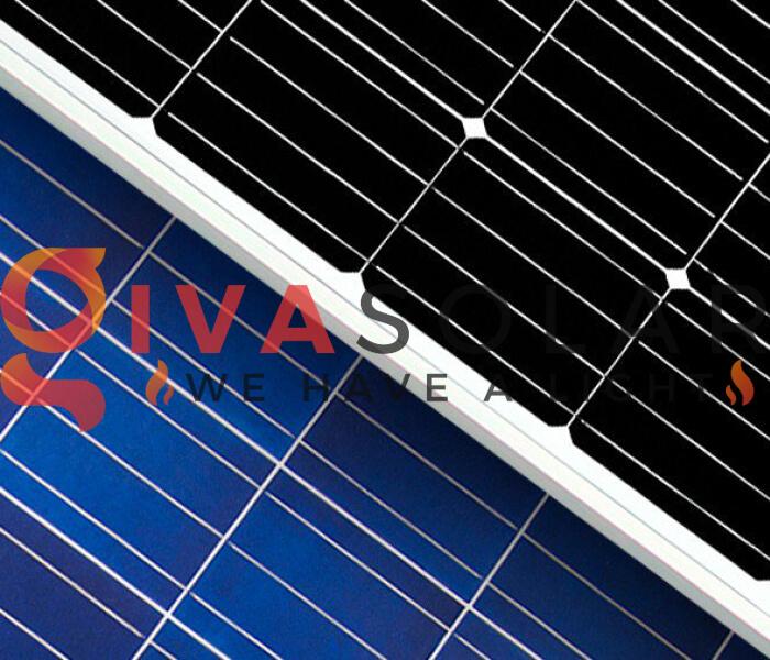 Sự khác biệt giữa pin mặt trời Mono và Poly