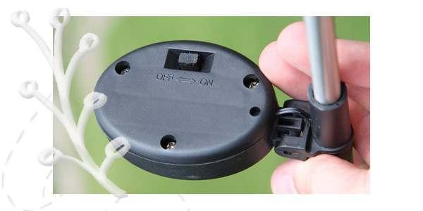Các sạc pin của đèn năng lượng