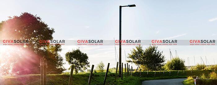 Nguyên lý hoạt động đèn đường năng lượng mặt trời