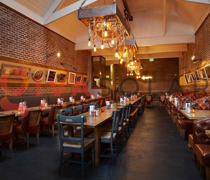Sử dụng đèn trang trí quán ăn thu hút khách hàng 5
