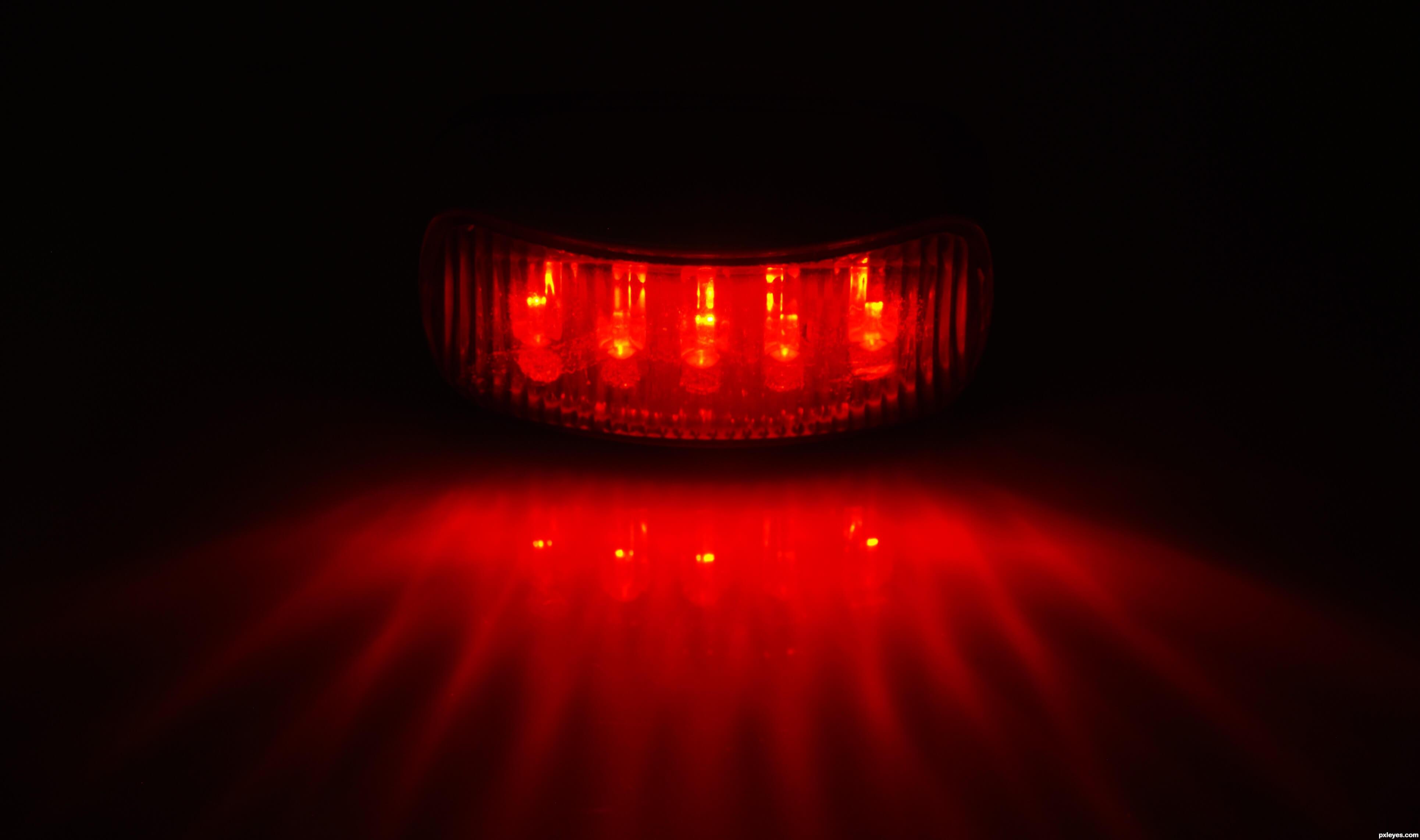 Đèn LED bước sóng đỏ