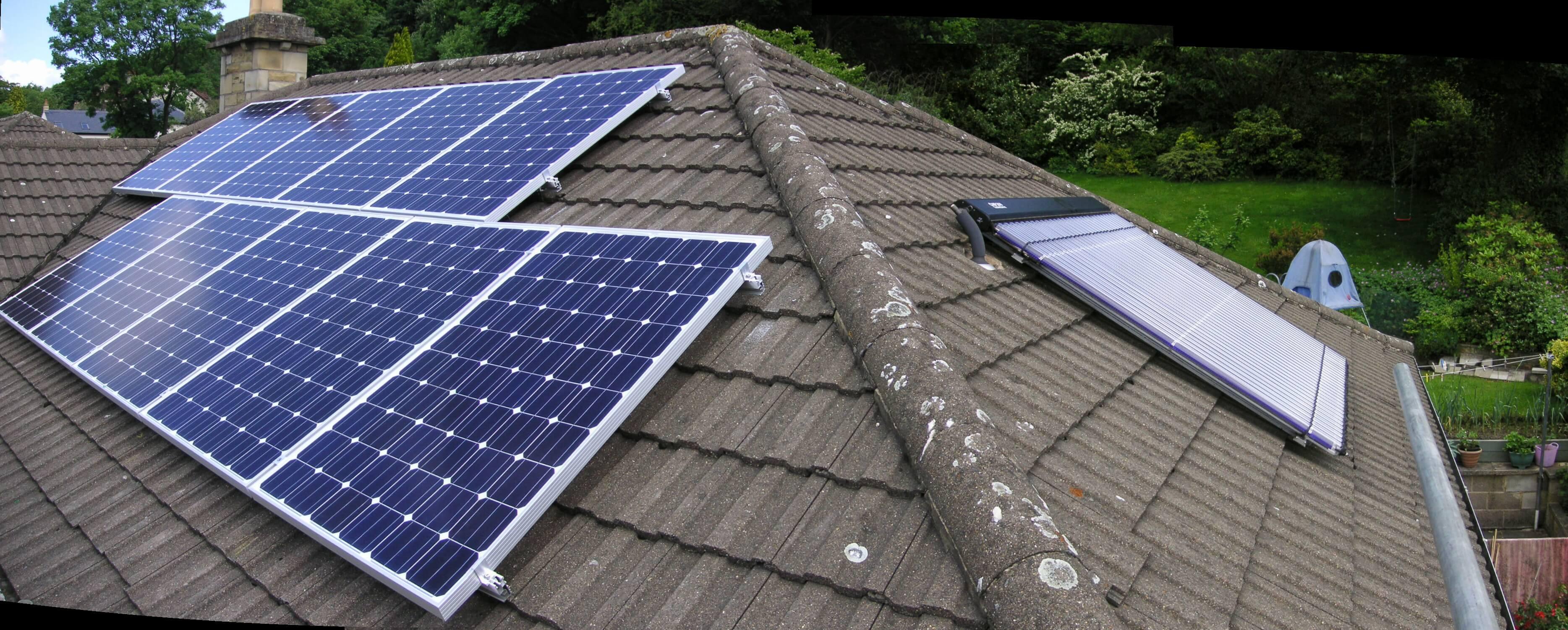 quang điện (PV) và nhiệt mặt trời