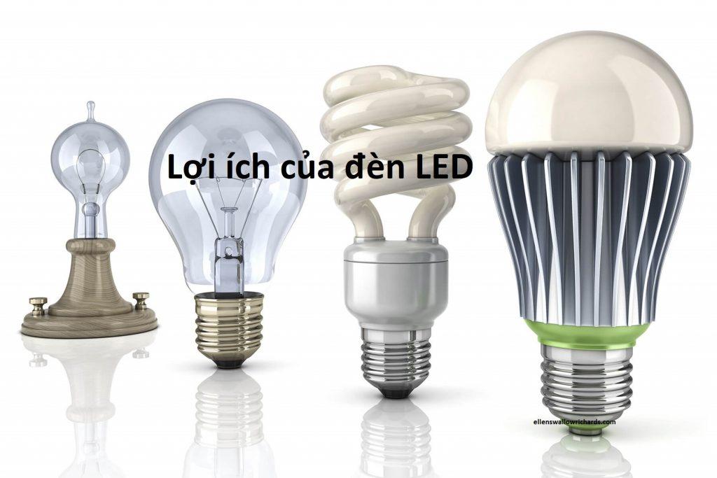 Lợi ích của đèn LED đem lại là gì?