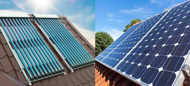 khác biệt giữa pin năng lượng và máy nước nóng năng lượng