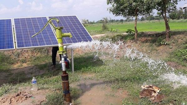 Hệ thống bơm mặt trời nông nghiệp